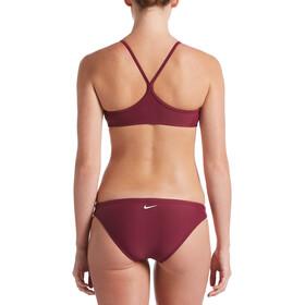 Nike Swim Essential Racerback Bikini Set Dames, vilain red